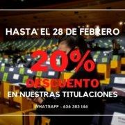 Descuento 20%