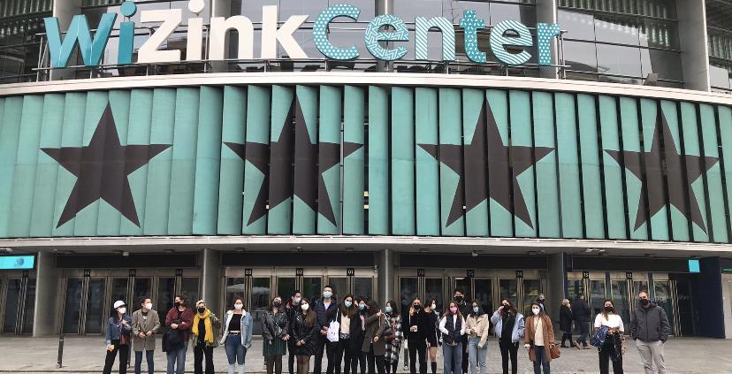 Alumnos Isemco en WiZink Center